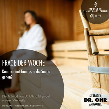 deutsche tinnitus stiftung frage der woche. Black Bedroom Furniture Sets. Home Design Ideas